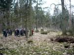 Abb. 2: Besichtigung des »Königsgrabes« Lüdelsen 6.