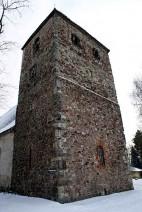 Abb. 3: Das »Westwerk« der Gertraudenkirche von Nordwesten aus betrachtet (Foto: I. Vahlhaus).