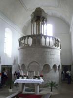 Abb. 1: Eichstätt, Nachbau des Hl. Grabes aus dem 12. Jh. in der Hl. Kreuz-Kirche (Foto: T. Fladung).