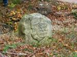 Abb. 1: Einer der »Tättenbachschen Grenzsteine« von 1603 (Foto: W. Fricke).