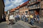 Abb. 1: Unterwegs in der Nähe des ehemaligen Augustinerklosters in der Quedlinburger Neustadt (Foto: M. Poppe).