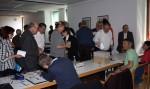 Abb. 2: Vorstandswahlen. Abgabe der Wahlzettel (Foto: M. Poppe).