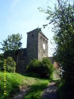 Abb. 3: Die Kirche St. Michael von auf dem Burgberg von Bösenburg (Foto: U. Tichatschke).