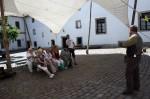 Abb. 3: Museumsleiter Dr. T. Ruppel stellt den Teilnehmern die Museumsanlage vor (Foto: M. Poppe).