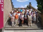 Abb. 2: Die Exkursionsteilnehmer auf der Treppe zur Berliner Nationalgalerie (Foto: Dr. M. Klamm).