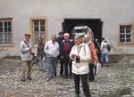 Abb. 2: Die Exkursionsteilnehmer beim Wittumspalais, Wohnhaus der Anna Amalia (Foto: M. Klamm).
